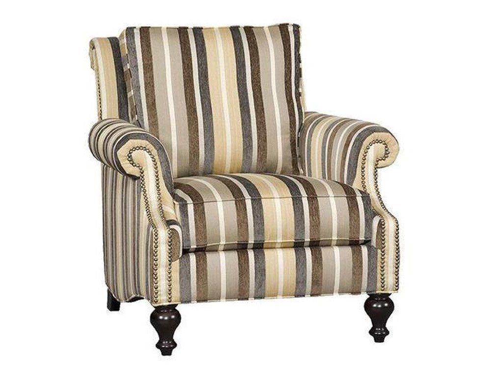 Sam Moore Kendra Sm Traditional Club Chair With Plush Seat Back And
