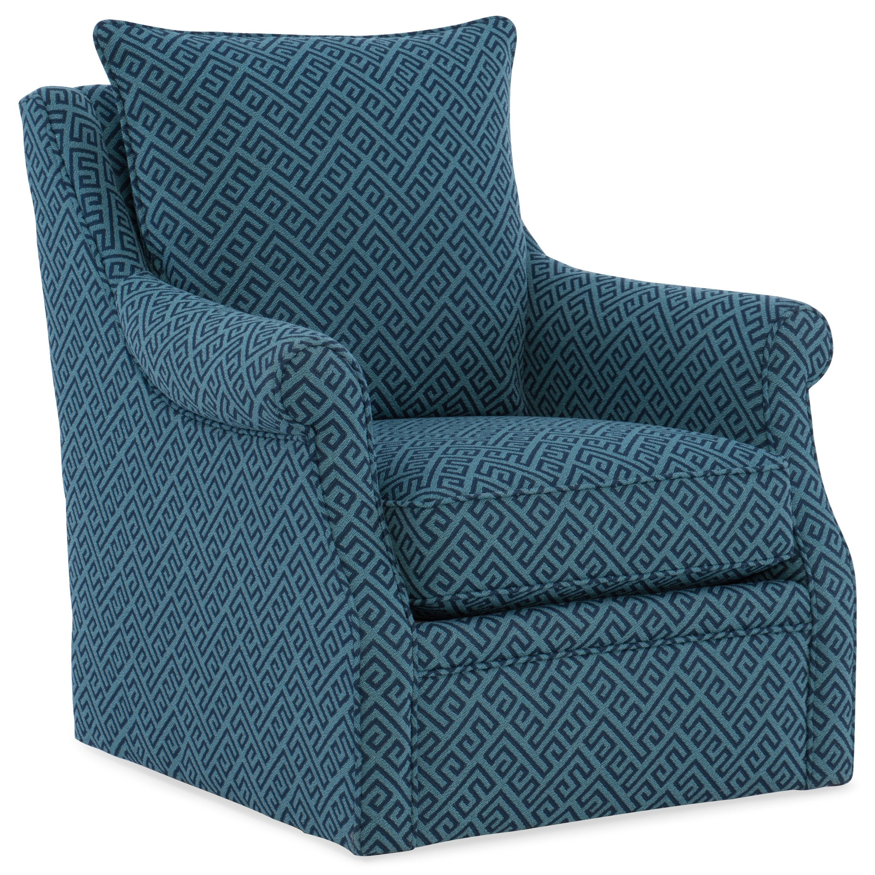 Lacey Transitional Swivel Accent Chair By Sam Moore