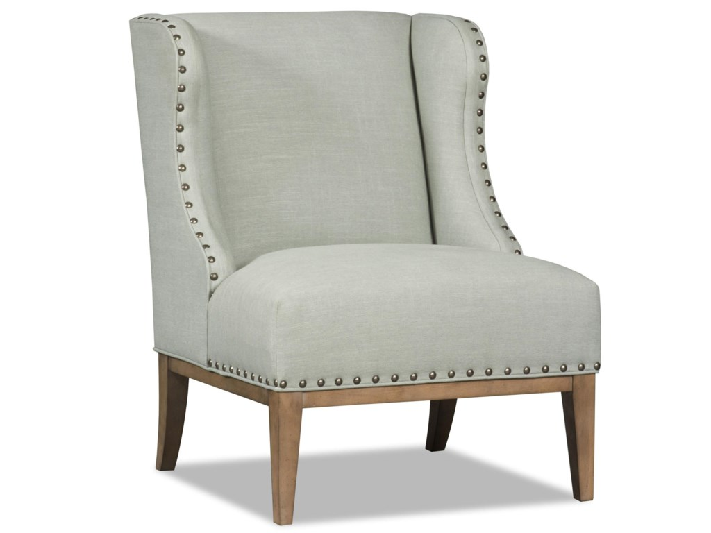 Sam Moore LinneaTransitional Wing Chair