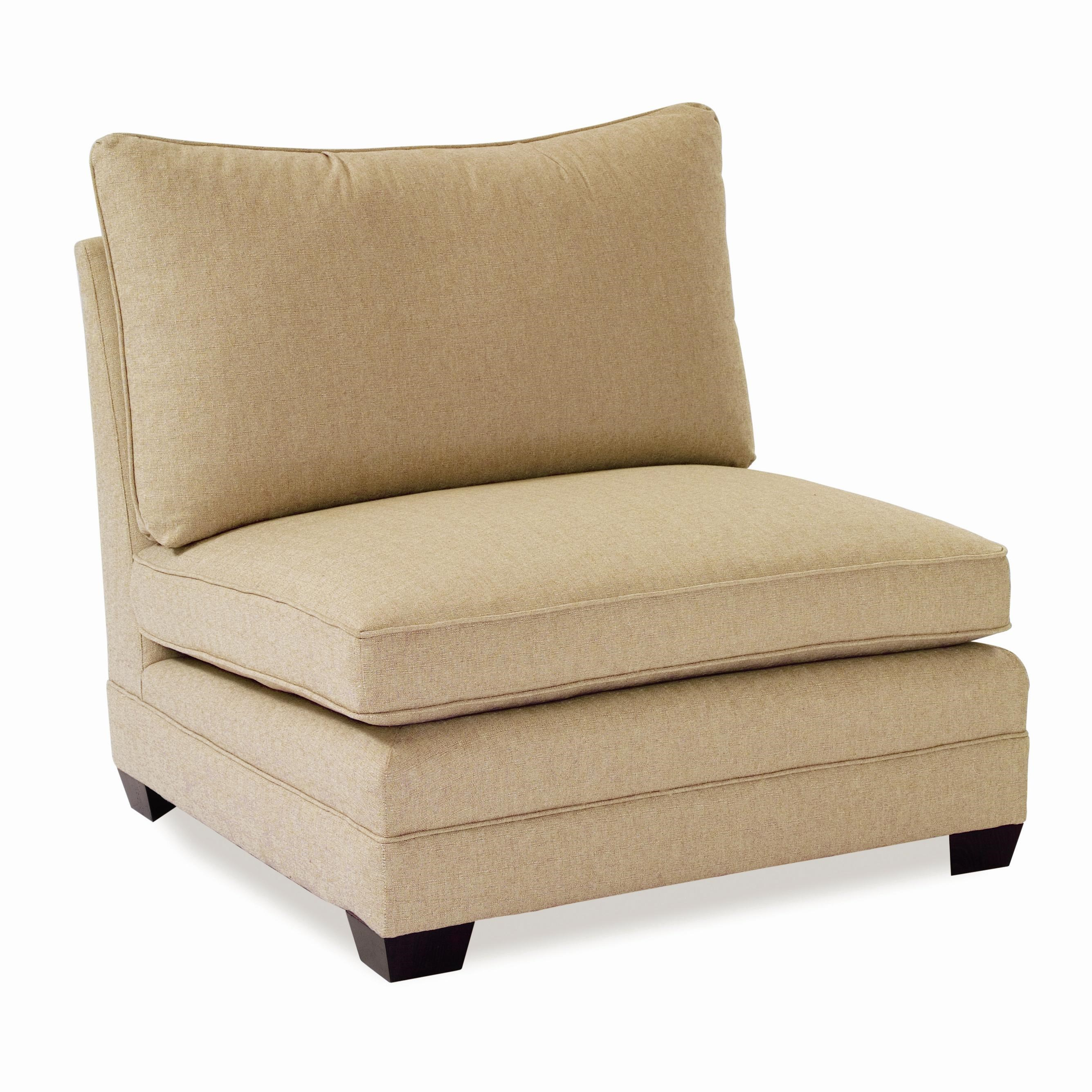 sam moore margo large armless chair dunk u0026 bright furniture sectional modular components