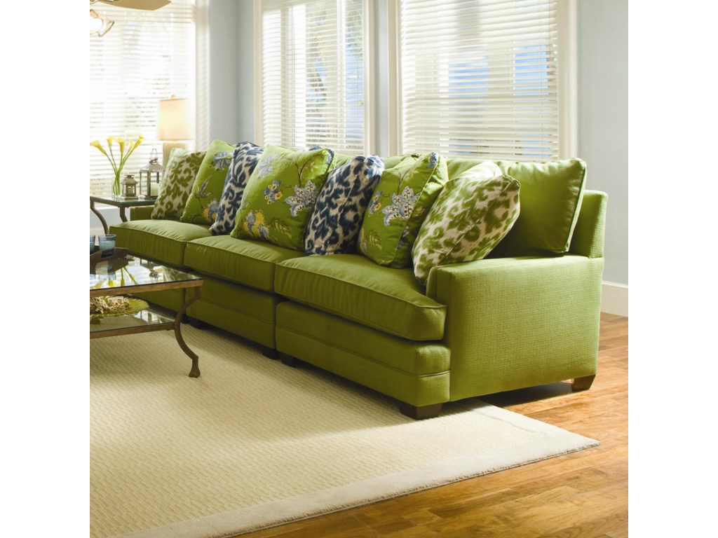 Sam Moore MargoWide Sectional Sofa