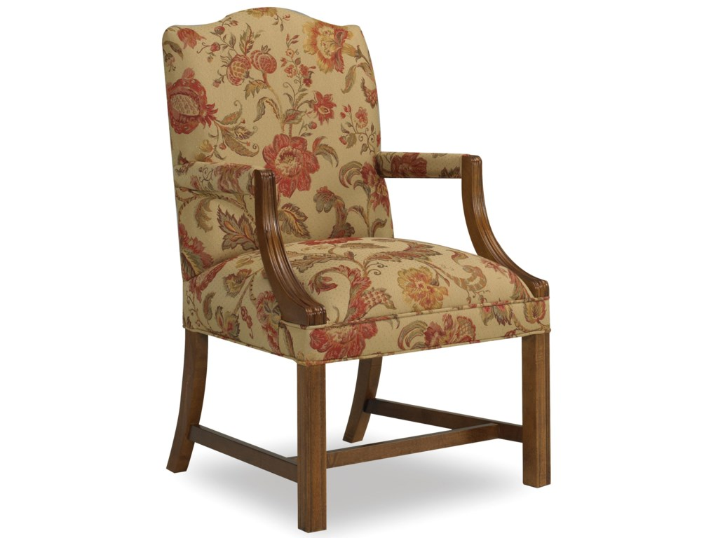 Sam Moore MarthaExposed Wood Arm Chair