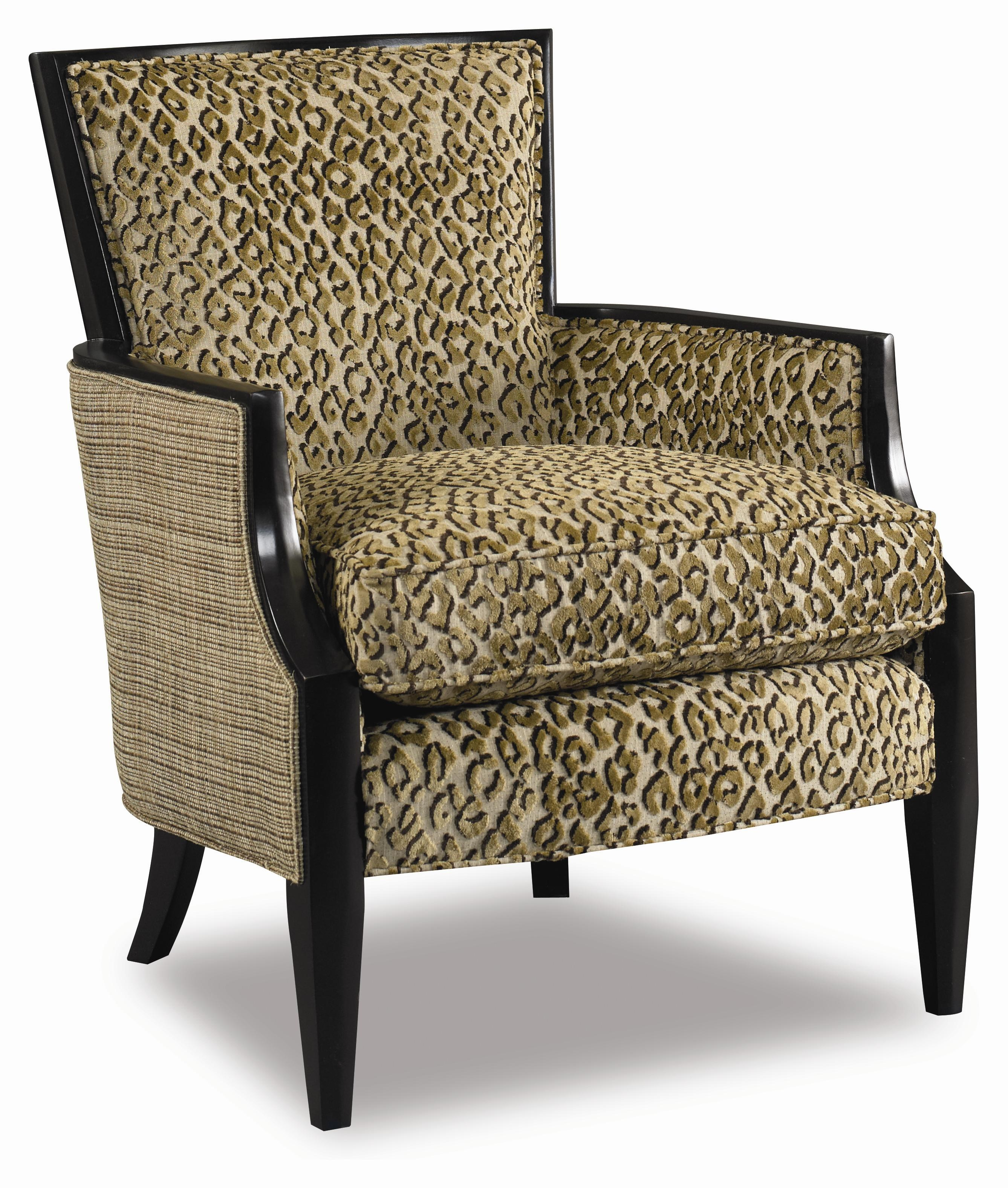 Sam Moore Nadia Upholstered Exposed Wood Accent Chair Pilgrim Furniture City Exposed Wood Chair