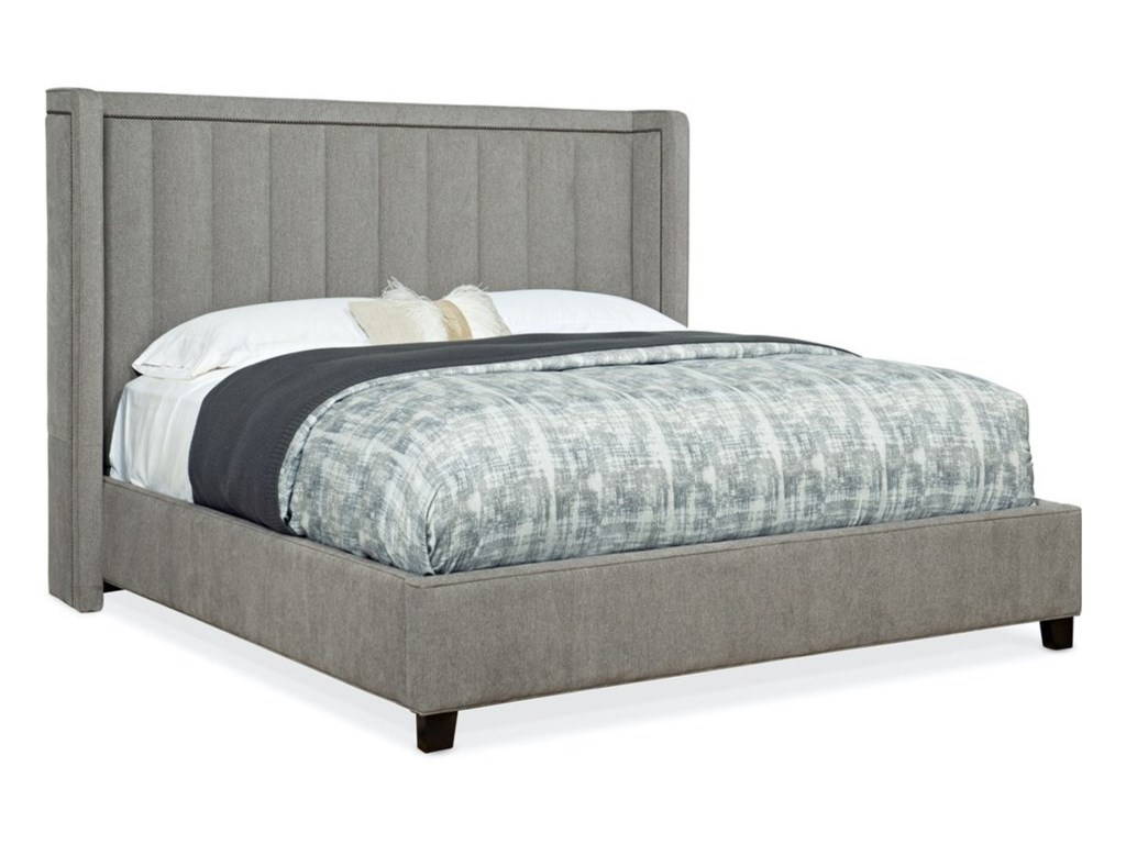 Sam Moore Nest TheoryCardinal 62in. Upholstered King Bed
