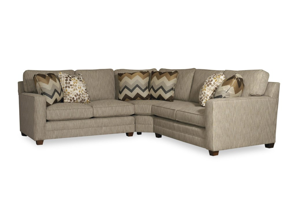 Sam Moore RickyThree Piece Sectional Sofa