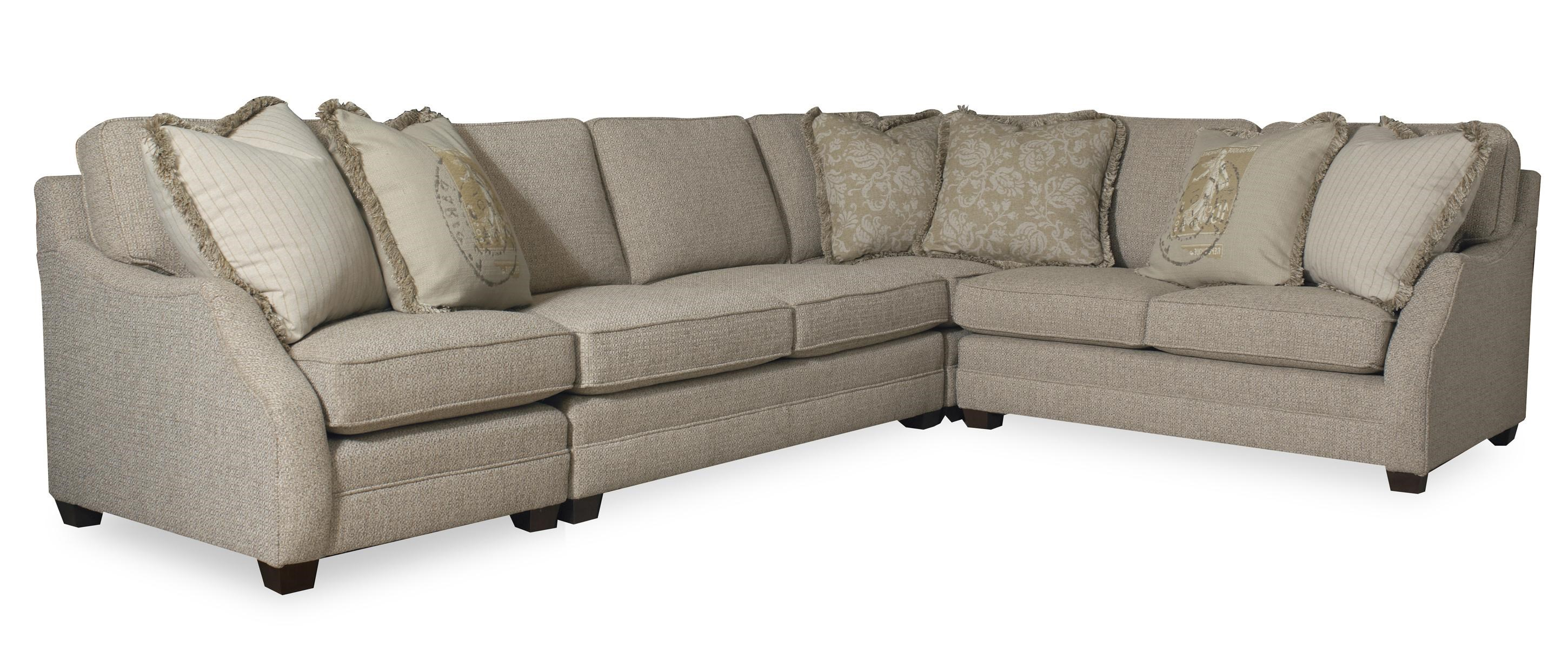 Sam Moore Rita Transitional Three Piece Sectional Sofa with RAF Sofa Return - Belfort Furniture - Sofa Sectional  sc 1 st  Belfort Furniture : sam moore sectional - Sectionals, Sofas & Couches