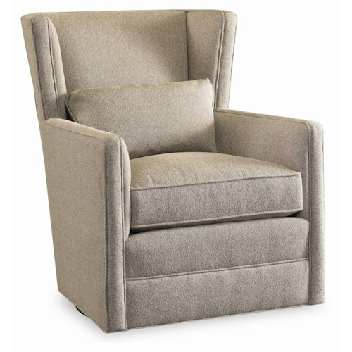 Sam Moore Surry Swivel Wing Chair