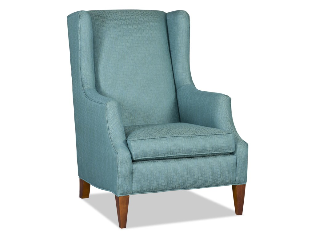 Sam Moore TenisonTransitional Wing Chair