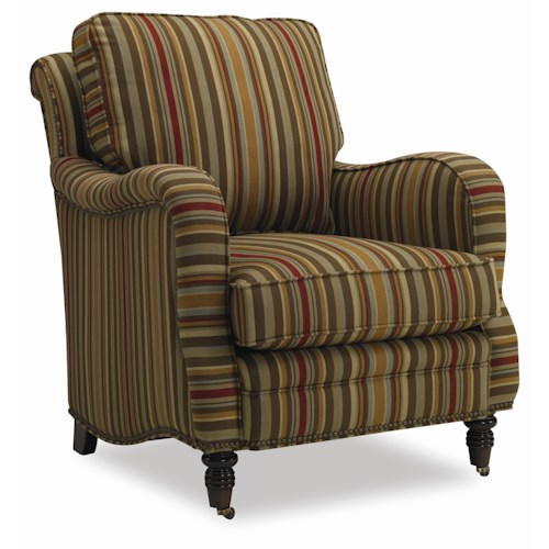 Sam Moore Tyler Traditional Upholstered Chair
