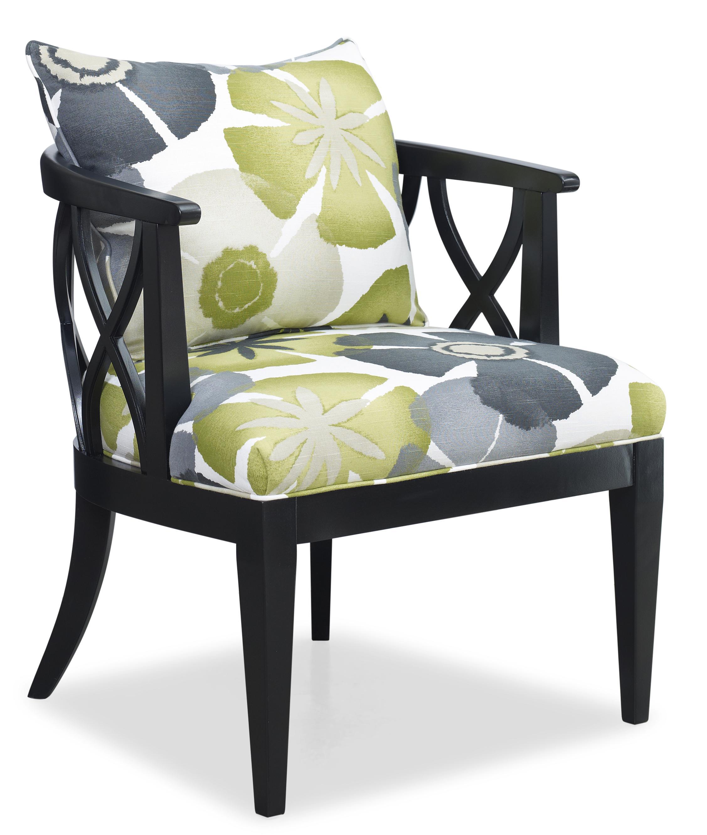 High Quality Sam Moore VeronaCarved Wood Chair ...