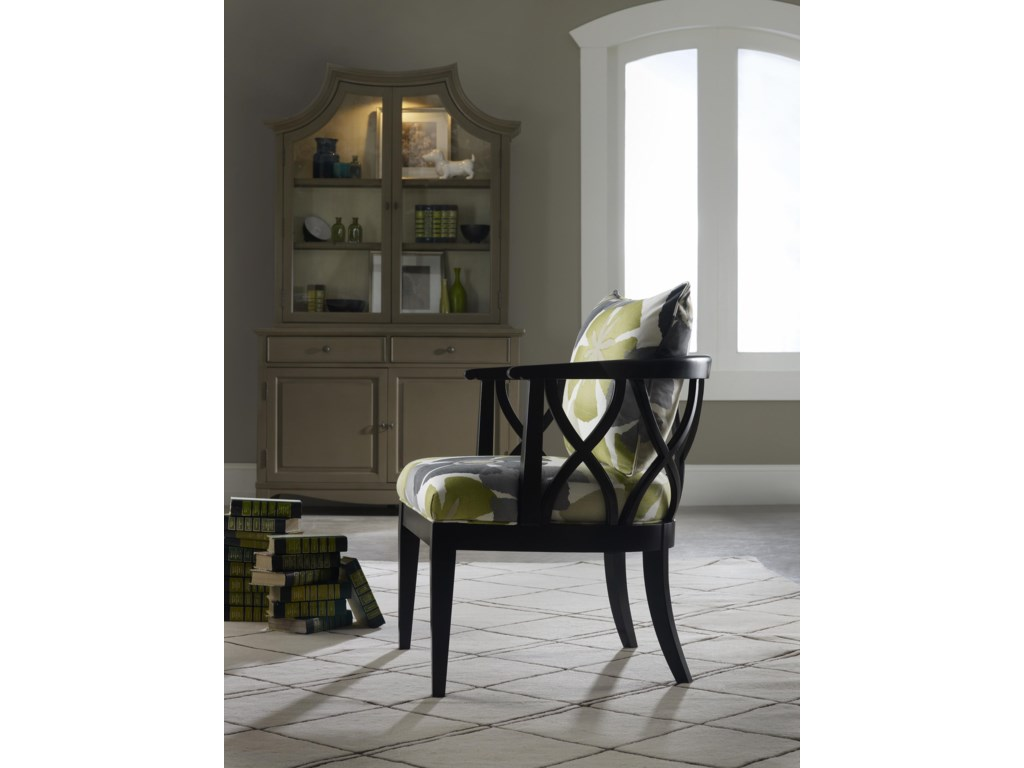 Sam Moore VeronaCarved Wood Chair