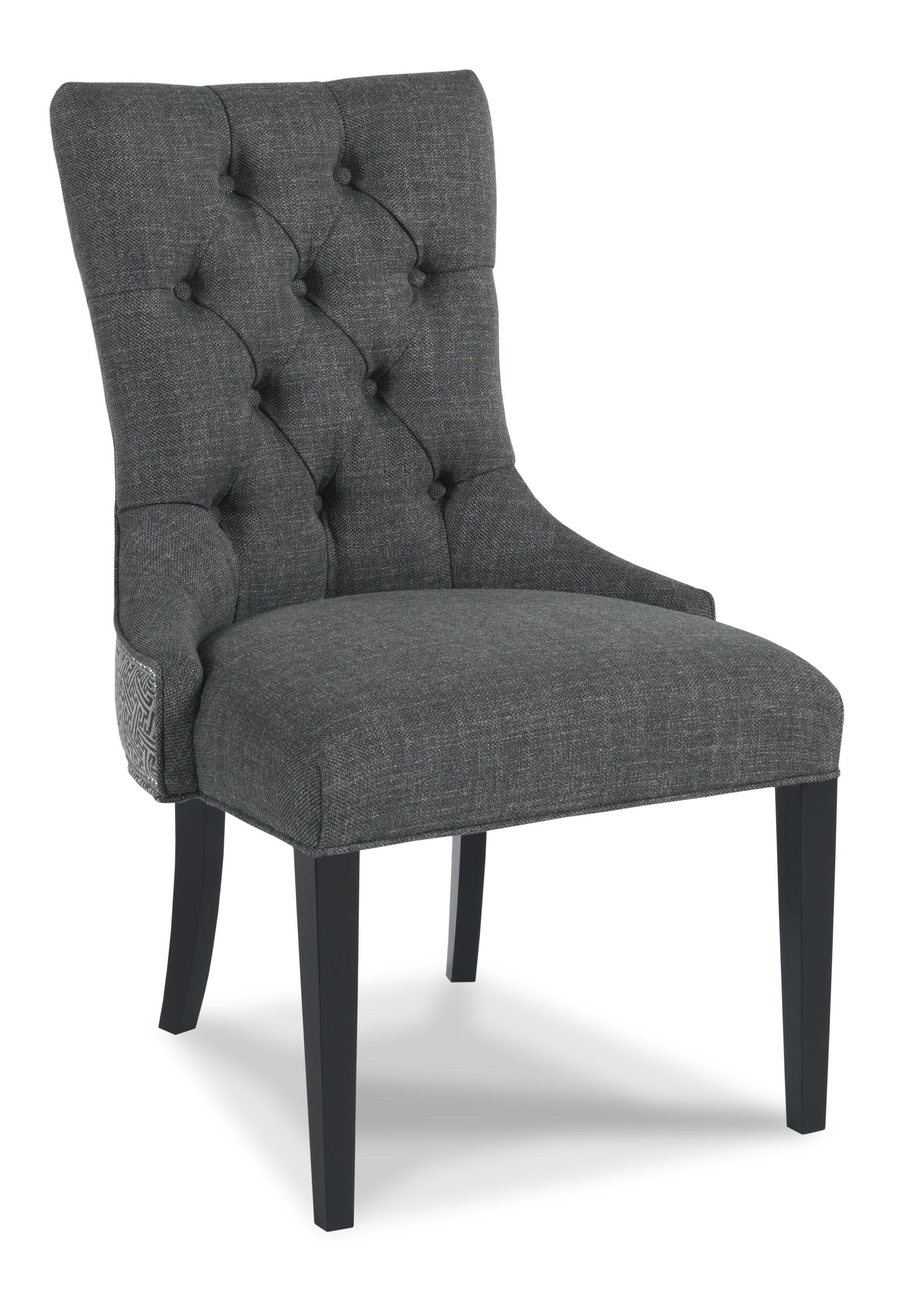 Sam Moore Walden Traditional Upholstered Button Tufted