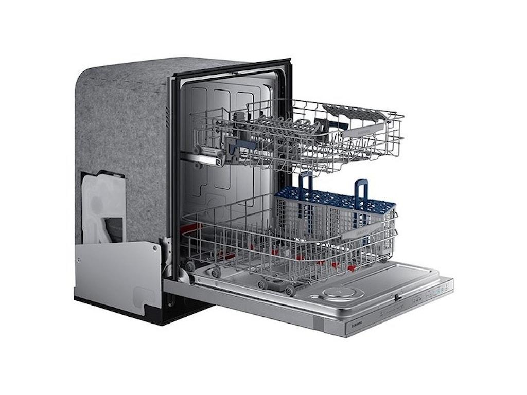 Samsung Appliances DishwashersTop Control WaterWall™ Technology Dishwasher