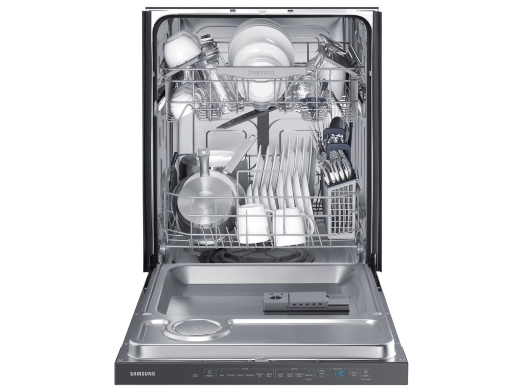 Samsung Appliances DishwashersTop Control StormWash? Dishwasher
