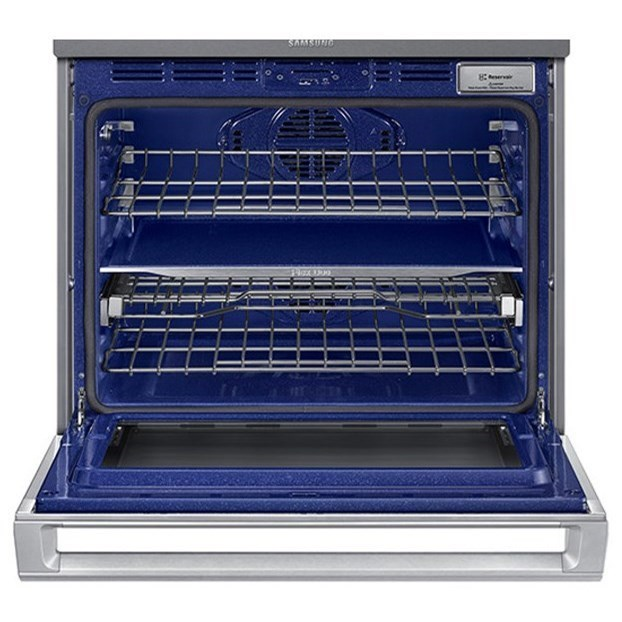 """Samsung Appliances Double Wall Ovens - Samsung30"""" Microwave Combination Wall Oven"""