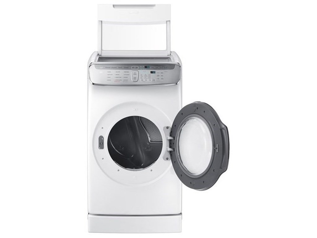 Samsung Appliances Dryers- SamsungDV9900 7.5 cu. ft. FlexDry™ Electric Dryer