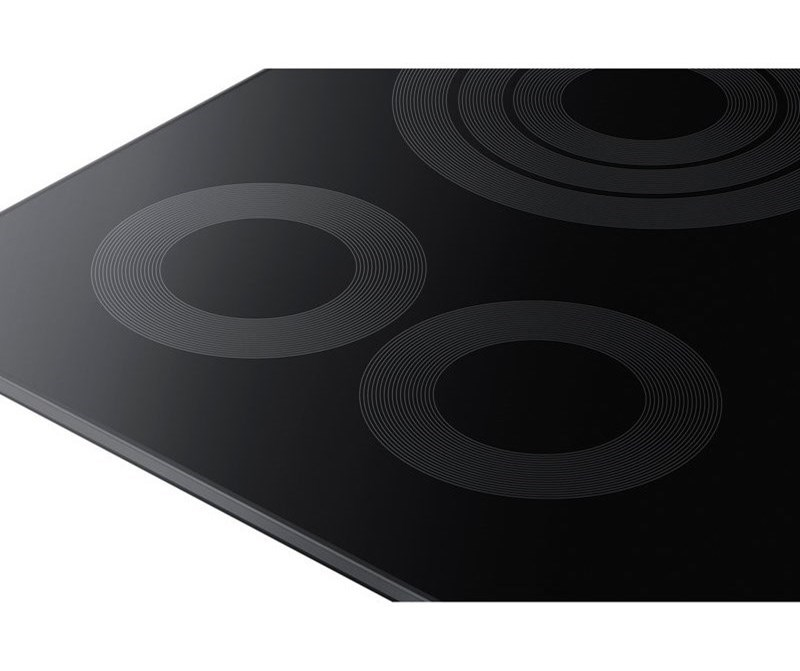 "Samsung Appliances Electric Cooktops - Samsung36"" Electric Cooktop"