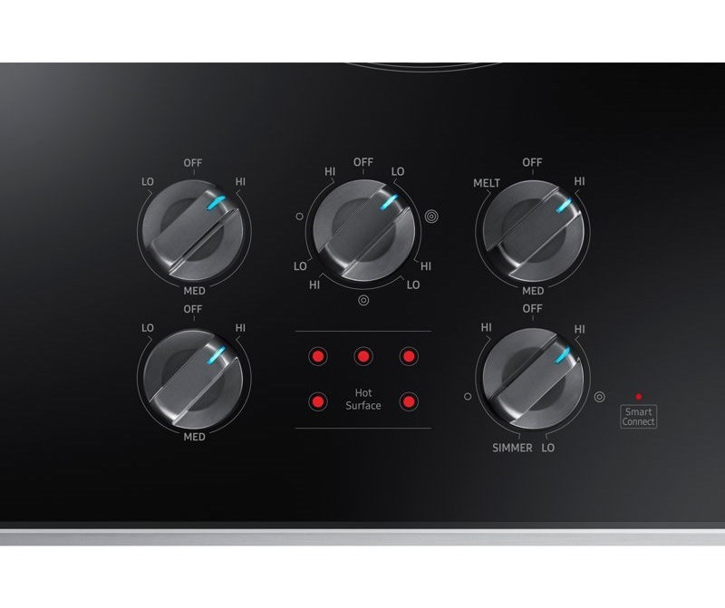 """Samsung Appliances Electric Cooktops - Samsung36"""" Electric Cooktop"""
