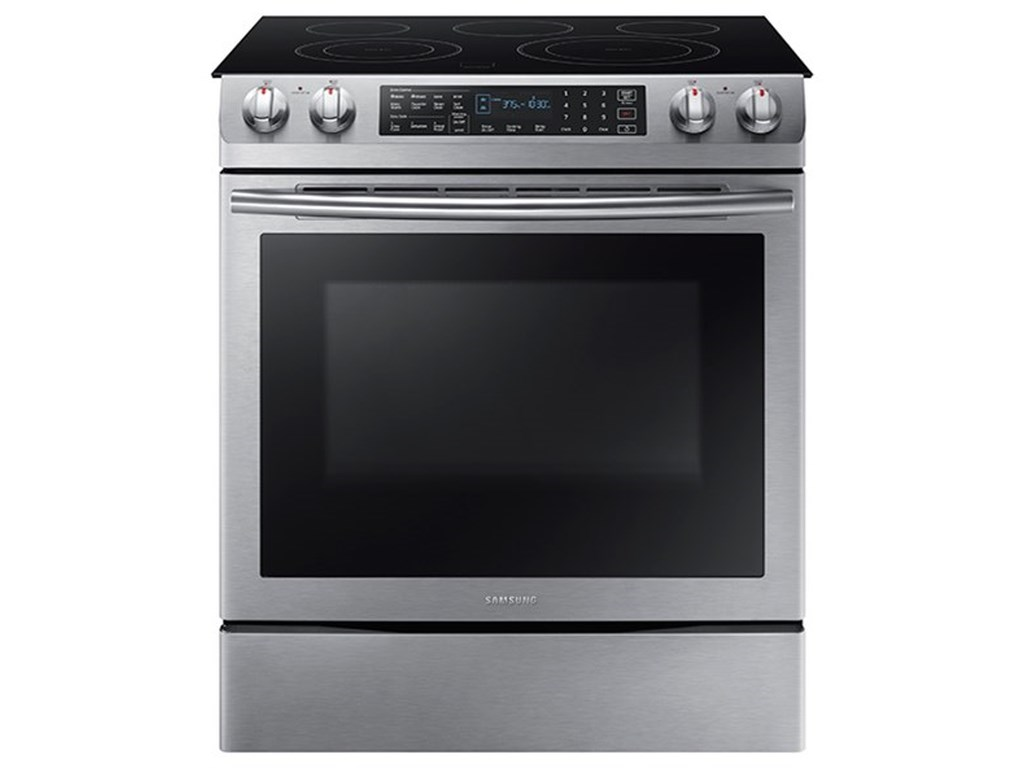 Samsung Appliances Electric Range5.8 cu. ft. Slide-In Electric Range