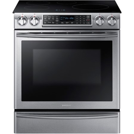 5.8 cu. ft. Slide-In Induction Range