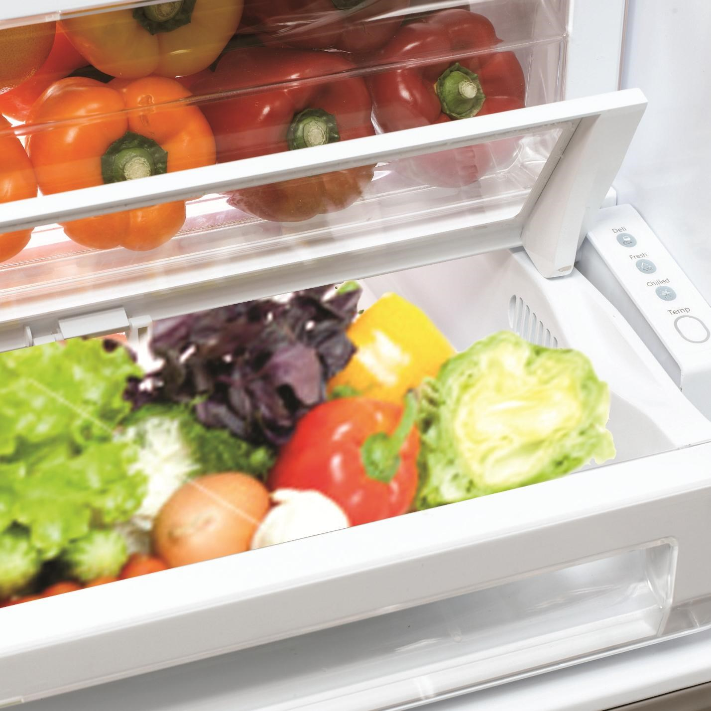 ... Full Width Pantry Drawer With Separate Temperature Controls