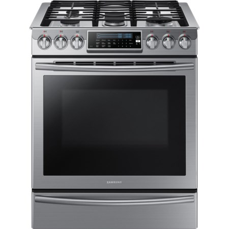 "5.8 Cu. Ft. 30"" Slide-In Gas Range"