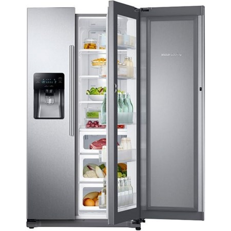 24.7 cu.ft. Side-x-Side Food ShowCase Fridge