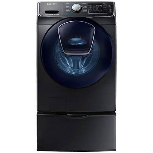 Samsung Appliances Front Load Washers - Samsung WF6500 4.5 cu. ft. AddWash™ Front Load Washer