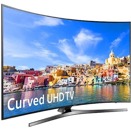 """43"""" Class KU7500 7-Series Curved 4K UHD TV"""