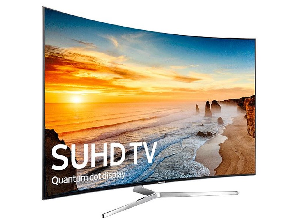 "Samsung Electronics Samsung LED TVs 201655"" Class KS9500 9-Series Curved 4K SUHD TV"