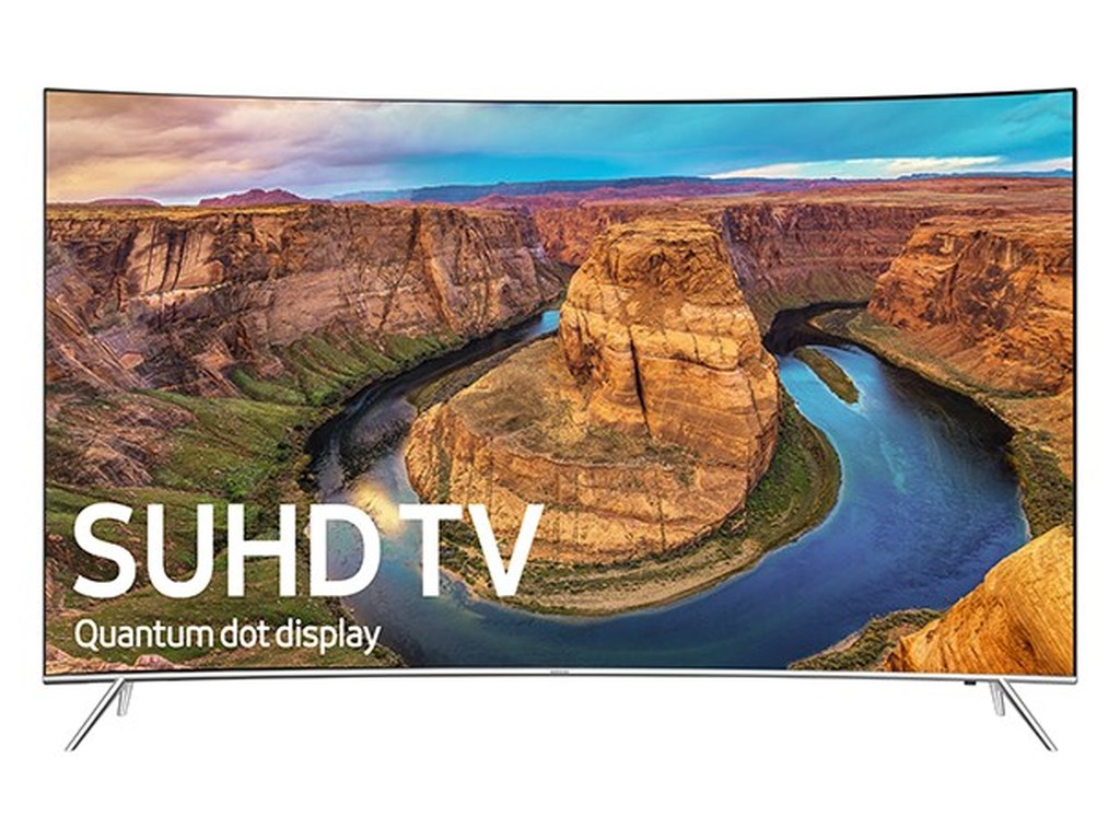 "Samsung Electronics Samsung LED TVs 201665"" Class KS8500 8-Series Curved 4K SUHD TV"