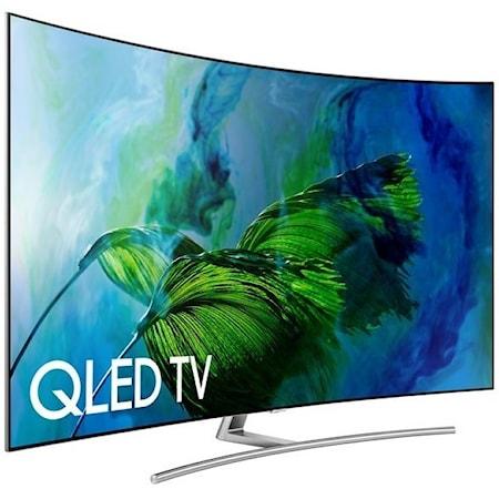 "75"" Class Q8C Curved QLED 4K TV"
