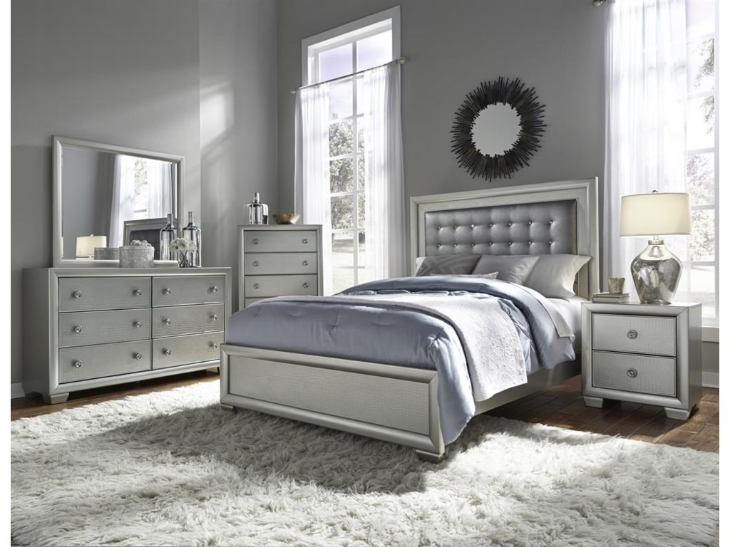 Samuel Lawrence CelestialKing Bedroom Group