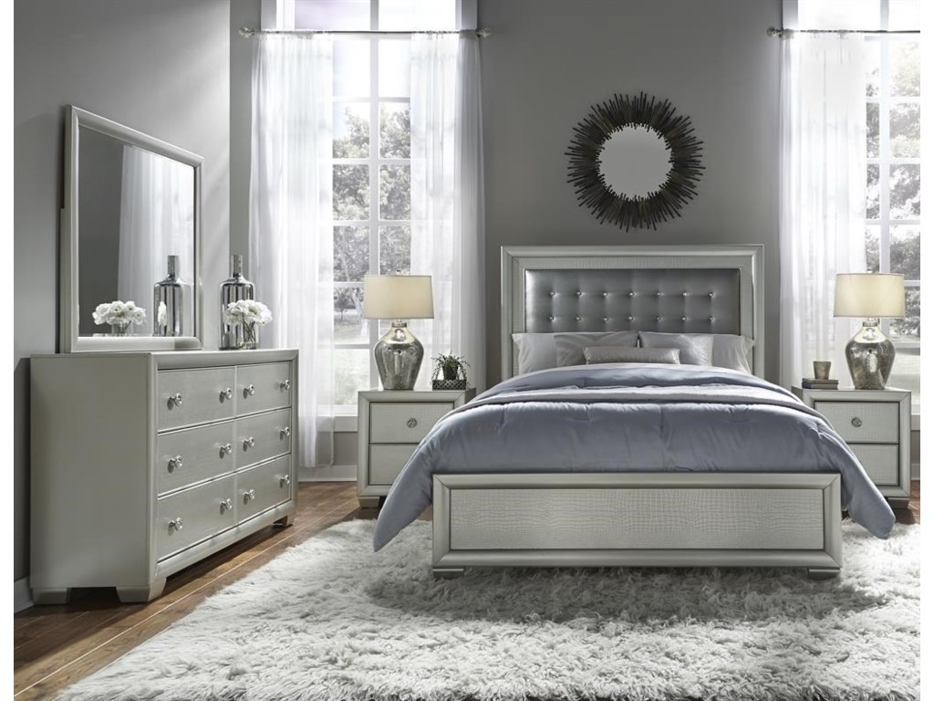 Samuel Lawrence CelestialQueen Bed