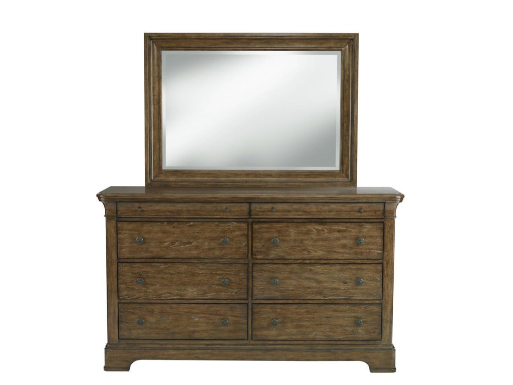 Samuel Lawrence American AttitudeDresser & Mirror Set