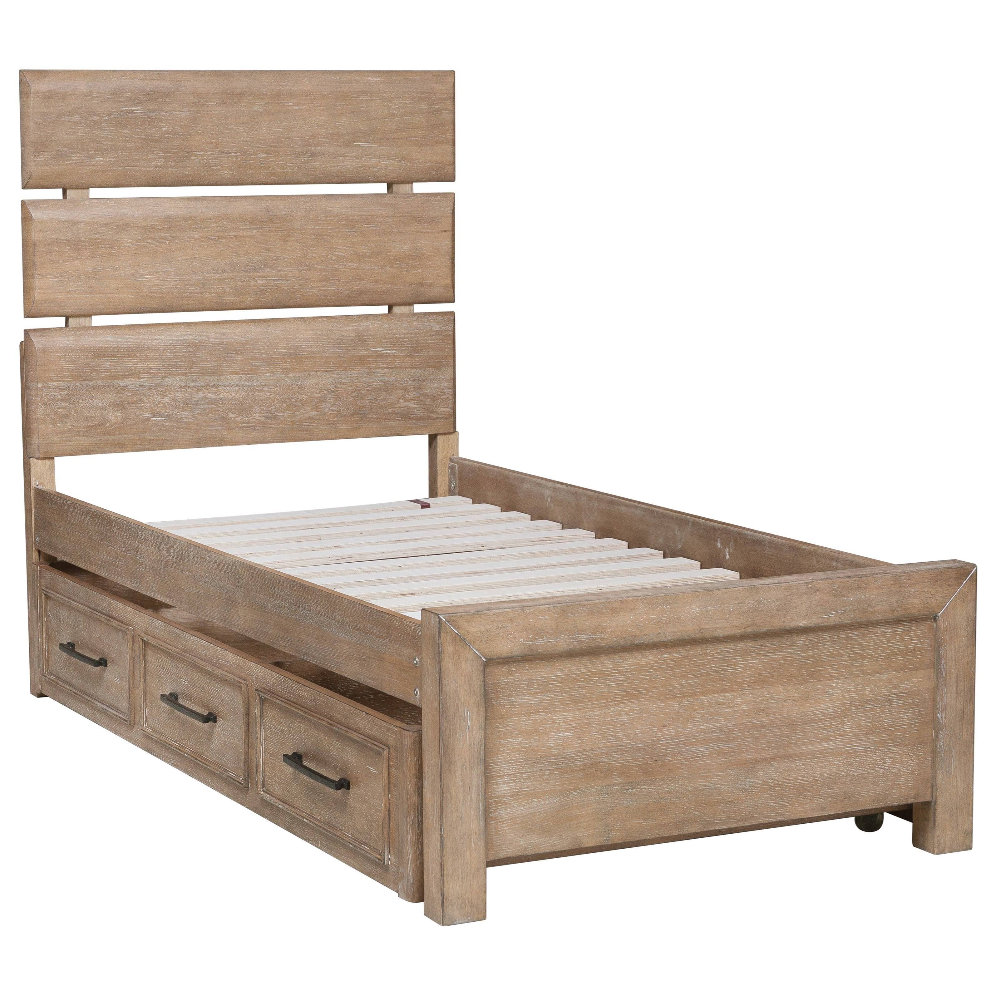 Samuel Lawrence Austin Full Bed with Underbed Storage Unit  sc 1 st  Aladdin Home Store & Samuel Lawrence Austin Full Bed with Underbed Storage Unit | Aladdin ...