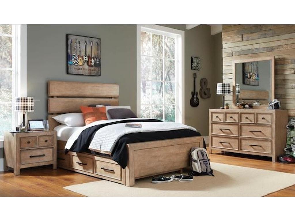 Samuel Lawrence AustinFull Bed