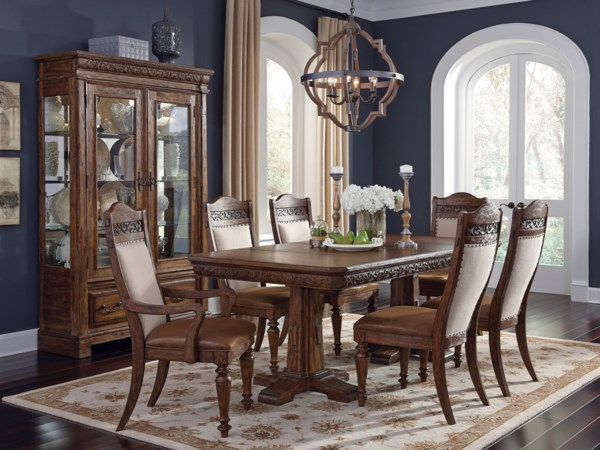 Samuel Lawrence Barcelona Formal Dining Room Group