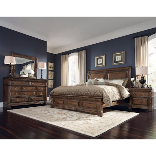 Samuel Lawrence Barcelona King Bedroom Group 1