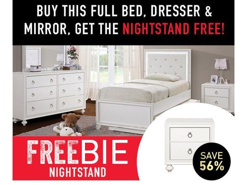 Samuel Lawrence BritBrit  Full Bed Package with Freebie!