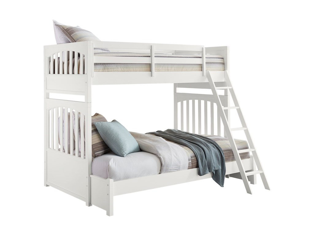 Samuel Lawrence Bunk BedsTwin-Over-Full Bunk Bed