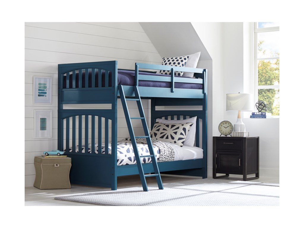 Samuel Lawrence Bunk Beds1Twin-Over-Twin Bunk Bed