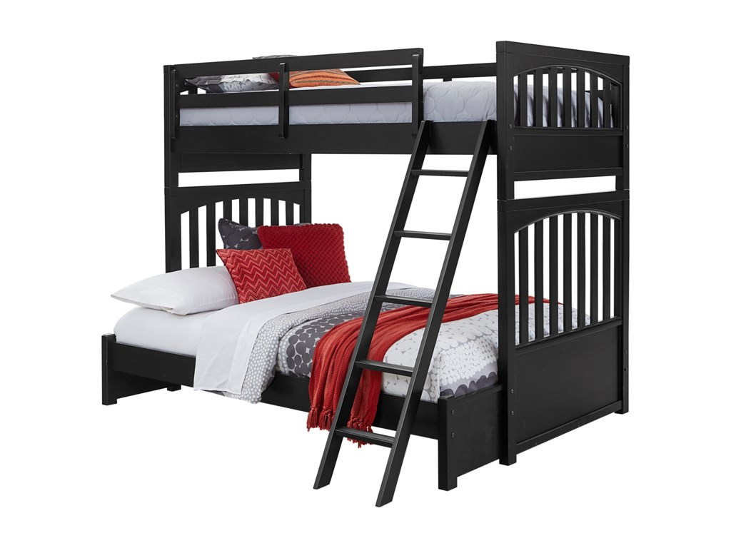 Samuel Lawrence Bunk Beds2Twin-Over-Full Bunk Bed