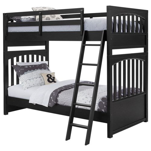 Samuel Lawrence Bunk Beds2 Twin Over Twin Bunk Bed With Open Slat