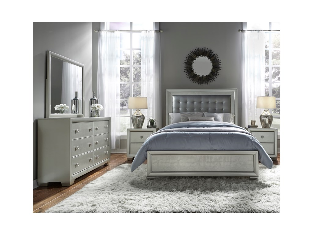 Samuel Lawrence CelestialQueen Bedroom Group