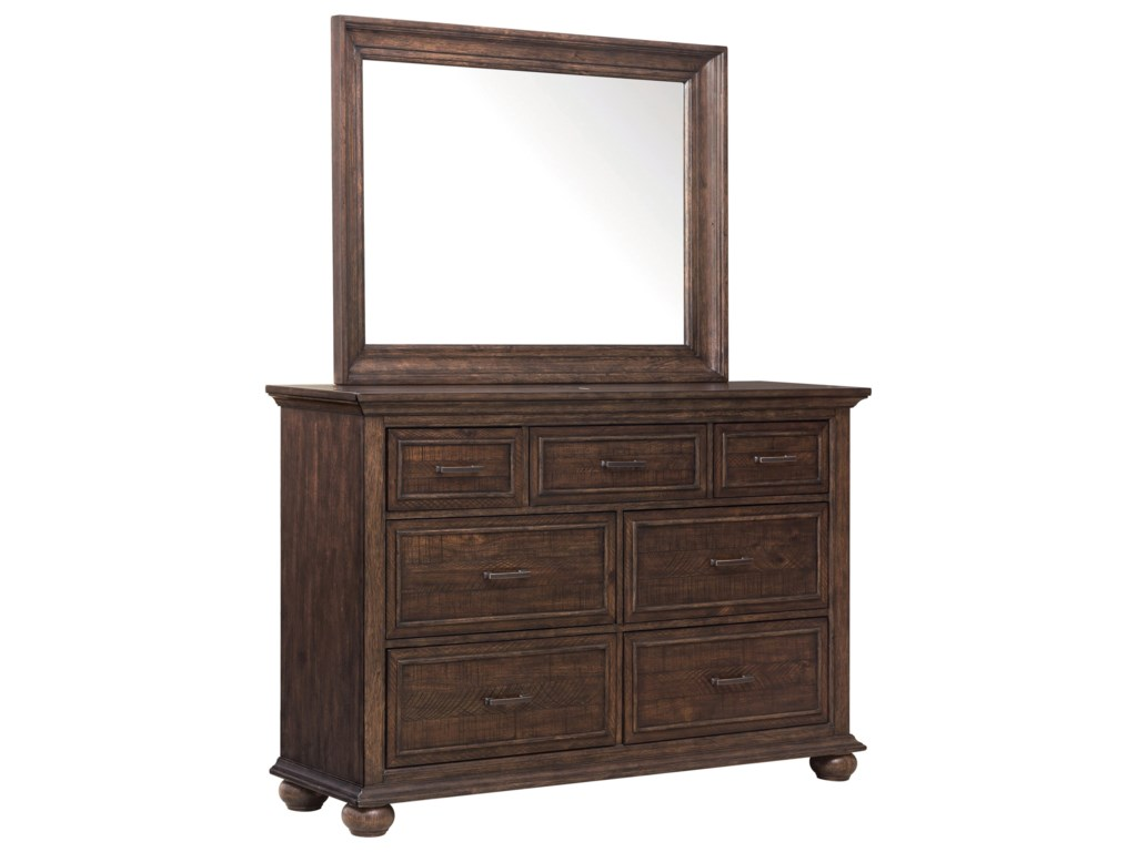 Samuel Lawrence Chatham ParkDresser and Mirror Combo