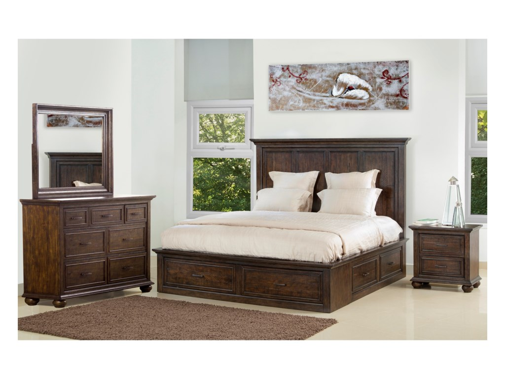 Samuel Lawrence Chatham ParkQueen Storage Bed