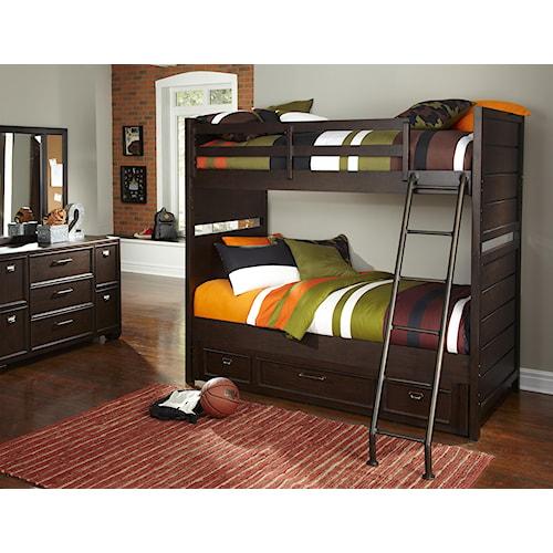 Kidz Gear Mason Bunk Bed Bedroom Group