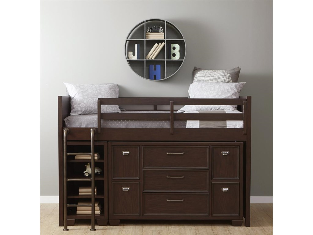 Samuel Lawrence ClubhouseTwin Loft Storage Bed