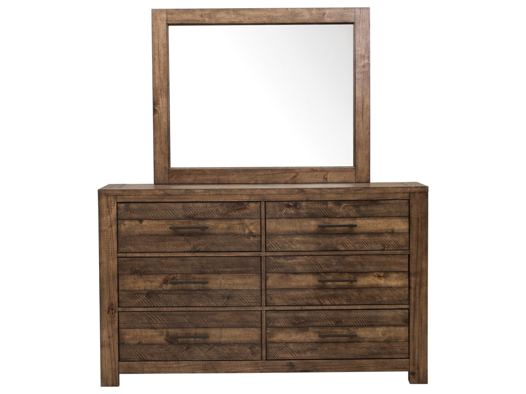 Morris Home Furnishings DeckerDecker Mirror